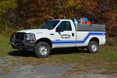 Brush 39 from Fountain is this 2004 Ford F350/UPF skid with a 100/275.
