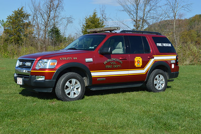 Utility 44 from Burlington is a 2007 Ford Explorer.
