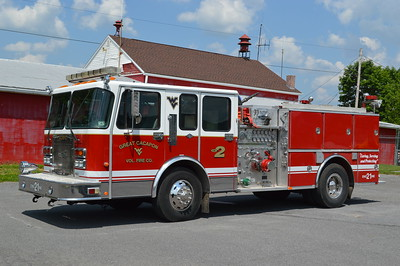 Placed into service during April of 2016, Engine 21 originally ran from the Dallas, Texas Fire Department.  It was last used in Dallas as Engine 17.  It is a 1996 Spartan/Quality equipped with a 1250/500.  It replaced the 2011 International/KME engine once operated by Great Cacapon.