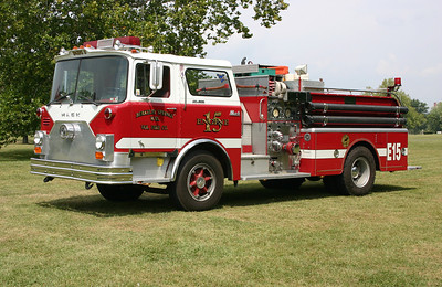 Engine 15 from Berkeley Springs originally was delivered to Martinsburg, WV.   It is a 1970 Mack CF611F10  1000/500 with serial number 1230.  Sold to a collector in 2015 when Berkeley Springs took delivery of Wagon 13, a 1996 Spartan/Quality.