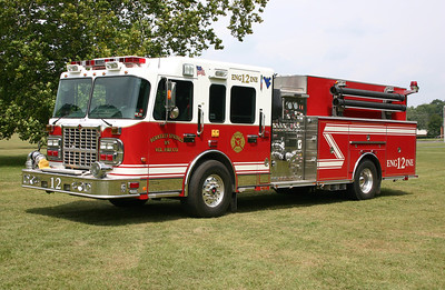 Berkeley Springs, WV - Engine 12 - 2009 Spartan Gladiator/Crimson  1500/1000.  Serial number 08054-01.