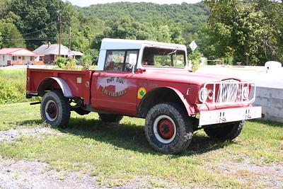 Former Paw Paw brush truck.