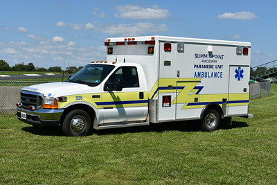 """Summit Point's """"898"""", a 1999 Ford F350/McCoy Miller that was received in 2017 from Paw Paw, West Virginia in Morgan County."""