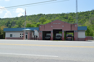 Morgan County, West Virginia EMS Station 7 in Berkeley Springs.