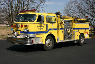 Lewisburg, West Virginia Engine 2010 - 1980 American LaFrance 	1500/750 serial number CT-6702