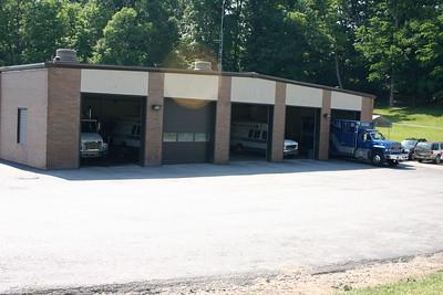 Monongalia, West Virginia Rescue Squad station in Morgantown.
