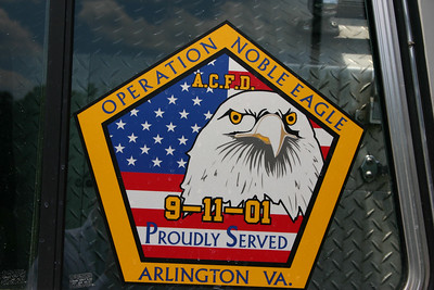 The decal found on Tower 10 from Shinnston, West Virginia.