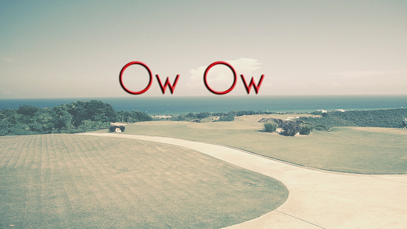 Sancho - Ow Ow VDO Text on left