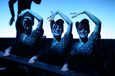 HAMLETMACHINE by Heiner Müller, directed by Robert Wilson [Festival dei2Mondi, Spoleto, Italy, 2017]