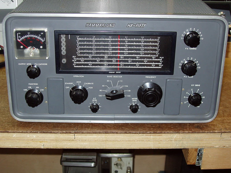 This was my first HX-50, it worked sort of but I didn't spend much time getting it operating properly.