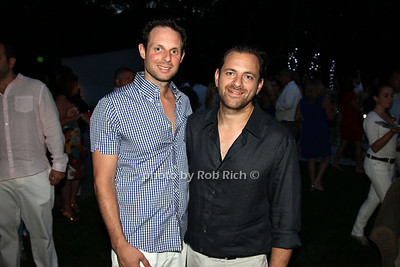 Joseph Glazer, Josh Glazer, (Hosts) photo by R.Cole for Rob Rich  © 2012 robwayne1@aol.com 516-676-3939