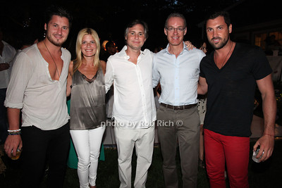 Val   Chmerkovskiy , Lizzie Grubman, Jason Binn, Kevin Ryan, Max   Chmerkovskiy photo by R.Cole for Rob Rich  © 2012 robwayne1@aol.com 516-676-3939