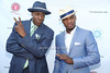 Arsenio Hall and Ne-Yo attend  the 2012 Compound Foundation Fostering A Legacy Benefit honoring George Lucas at a private residence in East Hampton.(July 14, 2012)<br /> Rob Rich/SocietyAllure.com