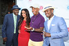 Arsenio Hall, Rocsi Diaz, Russell Simmons, and Ne-Yo<br /> attend  the 2012 Compound Foundation Fostering A Legacy Benefit honoring George Lucas at a private residence in East Hampton.(July 14, 2012)<br /> Rob Rich/SocietyAllure.com