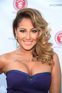 Adrienne Bailon attensd  the 2012 Compound Foundation Fostering A Legacy Benefit honoring George Lucas at a private residence in East Hampton.(July 14, 2012) Rob Rich/SocietyAllure.com