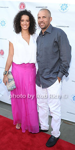 Porschla Coleman and Jason Kidd  attend  the 2012 Compound Foundation Fostering A Legacy Benefit honoring George Lucas at a private residence in East Hampton.(July 14, 2012) Rob Rich/SocietyAllure.com