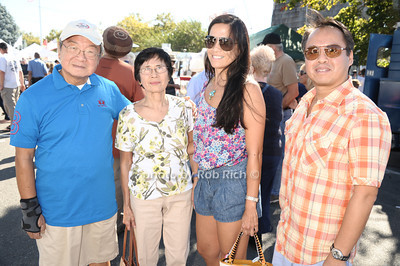 The Lo family attends the 2012 Harborfest in Sag Harbor on September 15, 2012. photo credit:Rob Rich/SocietyAllure.com