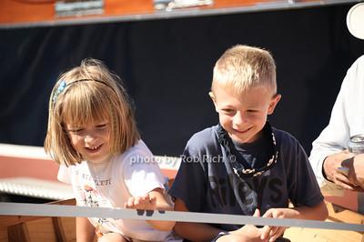 Children enjoying the 2012 Harborfest in Sag Harbor on September 15, 2012. photo credit:Rob Rich/SocietyAllure.com