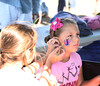 Facepainting was a favorite activity at the 2012 Harborfest in Sag Harbor on September 15, 2012.<br /> photo credit:Rob Rich/SocietyAllure.com
