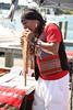 Pan flautist at the 2012 Harborfest in Sag Harbor on September 15, 2012.<br /> photo credit:Rob Rich/SocietyAllure.com