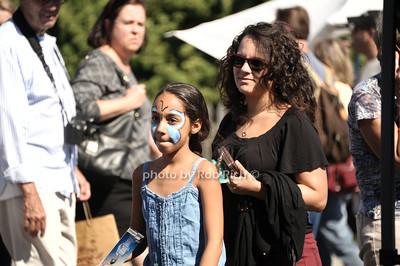 Face painted child at  the 2012 Harborfest in Sag Harbor on September 15, 2012. photo credit:Rob Rich/SocietyAllure.com