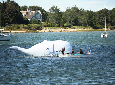 Harpooning the Whale at the 2012 Harborfest in Sag Harbor on September 15, 2012. photo credit:Rob Rich/SocietyAllure.com