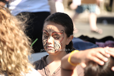 Face painting at the 2012 Harborfest in Sag Harbor on September 15, 2012. photo credit:Rob Rich/SocietyAllure.com