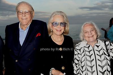 Saul Negreann, Beverly Negreann, and Muriel Siebert attend the Animal Rescue Fund of the Hamptons Annual Beach Ball Gala at the Bridgehampton Bath and Tennis Club in Bridgehampton. (August 18, 2012) photo credit: Rob Rich/SocietyAllure.com