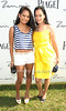 Zarah Burstein and Cassandra Seidenfled Lyster<br /> attend Week 3 of the Bridgehampton Polo Challenge at Two Trees Farm in Bridgehampton. (August 4, 2012)<br /> Rob Rich/SocietyAllure.com