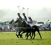 Polo Players on the field during Week 3 of the Bridgehampton Polo Challenge at Two Trees Farm in Bridgehampton. (August 4, 2012)<br /> Rob Rich/SocietyAllure.com