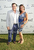 Steven Knoble and Nicole Noonan attend Week 3 of the Bridgehampton Polo Challenge at Two Trees Farm in Bridgehampton. (August 4, 2012)<br /> Rob Rich/SocietyAllure.com