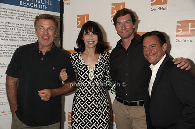 "Alec Baldwin,  Ileana Douglas, and Jerry O'Connell, and Eugene Pack attend ""Celebrity Autobiography"" at Guild Hall in East Hampton. (August 24, 2012) photo credit: Rob Rich/SocietyAllure.com"
