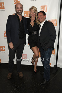 "Scott Adsik, Christie Brinkley, and Eugene Pack attend ""Celebrity Autobiography"" at Guild Hall in East Hampton. (August 24, 2012) photo credit: Rob Rich/SocietyAllure.com"