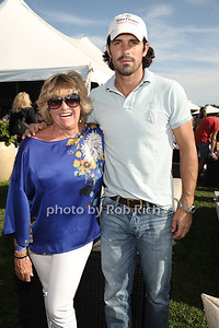 Lorna Luft and Nacho Figueras attend the seasonal final polo match of the Bridgehampton  Polo Challenge at Two Trees Farm in Bridgehampton. (August 25, 2012) photo credit: Rob Rich/SocietyAllure.com