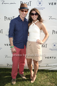 Bobby Flay with daughter Sophie Flay attend the seasonal final polo match of the Bridgehampton  Polo Challenge at Two Trees Farm in Bridgehampton. (August 25, 2012) photo credit: Rob Rich/SocietyAllure.com
