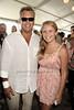 Peter Cook and daughter Sailor Cook attend the 37th. Annual Hampton Classic Grand Prix in Bridgehampton.(September 2, 2012)<br /> photo credit: Rob Rich/SocietyAllure.com