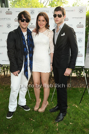5-27-12: Andrew Warren, guest, Peter Brant II attend Hamptons Magazine celebrates Matt Lauer at Annual Memorial Day Kickoff Party at Southampton Social Club. Rob Rich/SocietyAllure.com