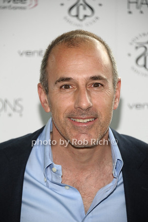 5-27-12:Matt Lauer attends Hamptons Magazine celebrates Matt Lauer at Annual Memorial Day Kickoff Party at Southampton Social Club. Rob Rich/SocietyAllure.com