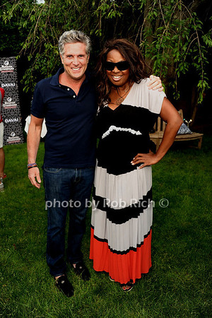 5-27-12:Donnie Deutsch and Star Jones attend Hamptons Magazine celebrates Matt Lauer at Annual Memorial Day Kickoff Party at Southampton Social Club. Rob Rich/SocietyAllure.com