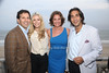 5-26-2012:Neil Drescher, Aviva Drescher, Countess Luann de Lesseps, and Jacques Azouley attend the Miracle House 22nd. Annual Summer Kickoff at the Bridgehampton Tennis and Surf Club in Bridgehampton.<br /> Rob Rich/SocietyAllure.com