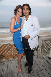 5-26-2012: Countess Luann de Lesseps and Jacques Azouley attend the Miracle House 22nd. Annual Summer Kickoff at the Bridgehampton Tennis and Surf Club in Bridgehampton. Rob Rich/SocietyAllure.com