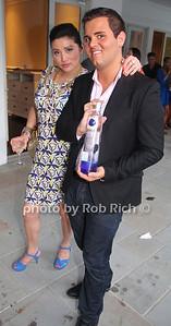 Min Romano, Nick Kane, Ciroc Vodka photo by M.Buchanan for Rob Rich© 2012 robwayne1@aol.com 516-676-3939