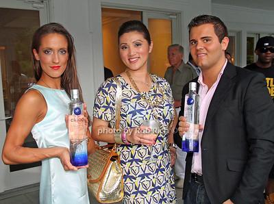 Ande Sedwick, Min Romano, Nick Kane, Ciroc Vodka photo by M.Buchanan for Rob Rich© 2012 robwayne1@aol.com 516-676-3939
