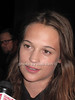 Actress Alicia Vikander attends the HIFF opening reception at East Hampton Pointe in East Hampton on October4, 2012.<br /> photo by Rob Rich/SocietyAllure.com