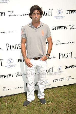 Nacho Figueras attends opening day of Bridgehampton Polo at Two Trees Farm in Bridgehampton. (July 21, 2012) Rob Rich/SocietyAllure.com