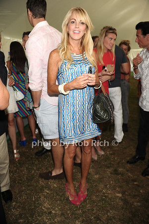 Dina Lohan attends opening day of Bridgehampton Polo at Two Trees Farm in Bridgehampton. (July 21, 2012) Rob Rich/SocietyAllure.com