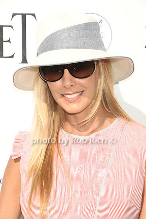 Beth Ostrosky attends opening day of Bridgehampton Polo at Two Trees Farm in Bridgehampton. (July 21, 2012) Rob Rich/SocietyAllure.com