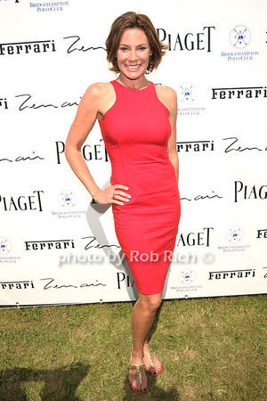 Countess Luann de Lesseps attends opening day of Bridgehampton Polo at Two Trees Farm in Bridgehampton. (July 21, 2012) Rob Rich/SocietyAllure.com