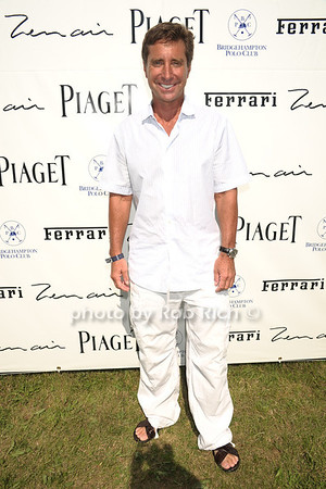 Jeweler Jeffrey Rackover attends opening day of Bridgehampton Polo at Two Trees Farm in Bridgehampton. (July 21, 2012) Rob Rich/SocietyAllure.com