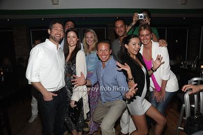 Chris Wragge CBS Anchor and Friends all photos by Rob Rich © 2012 robwayne1@aol.com 516-676-3939